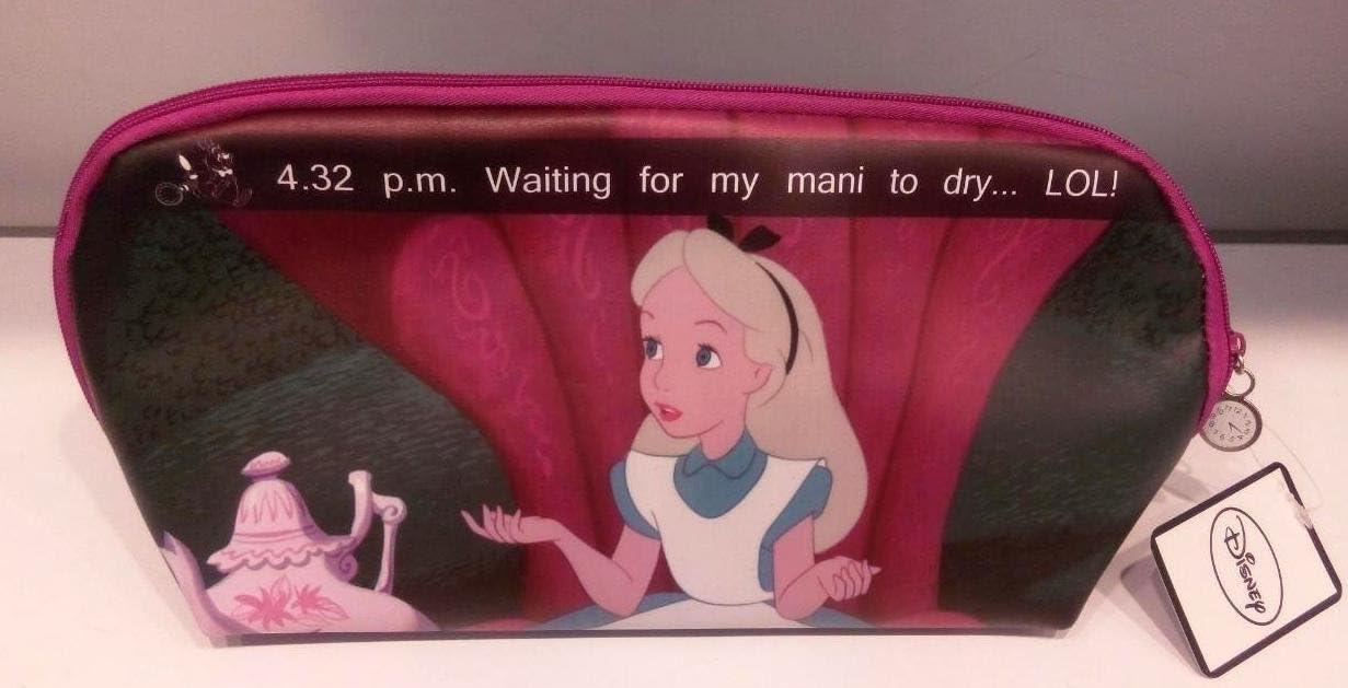 PRIMARK Ladies Girls Disney Alice in Wonderland Make Up Neceser Bolsa de Aseo: Amazon.es: Equipaje