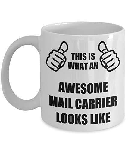 Funny Birthday Gifts For Mail Carrier Wife Husband Mom Dad Friend Coworker Daughter Son Parents Women