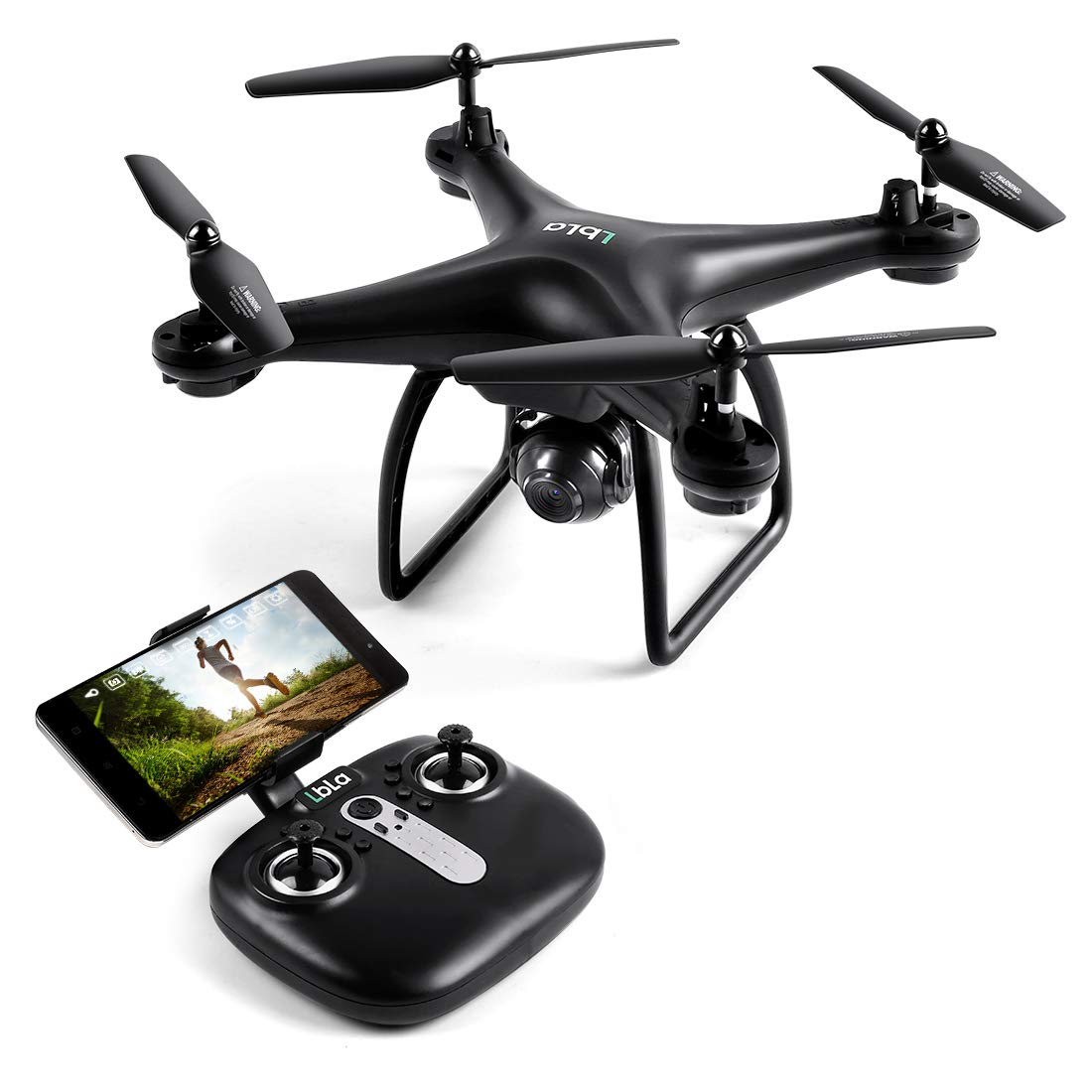 LBLA Drone with Camera,SX16 Wi-Fi FPV Training Quadcopter with 720P HD Camera Equipped with Headless Mode One Key Return Easy Operation