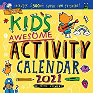Kid's Awesome Activity Wall Calendar