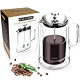 French Press Coffee Maker, Double Wall Vacuum