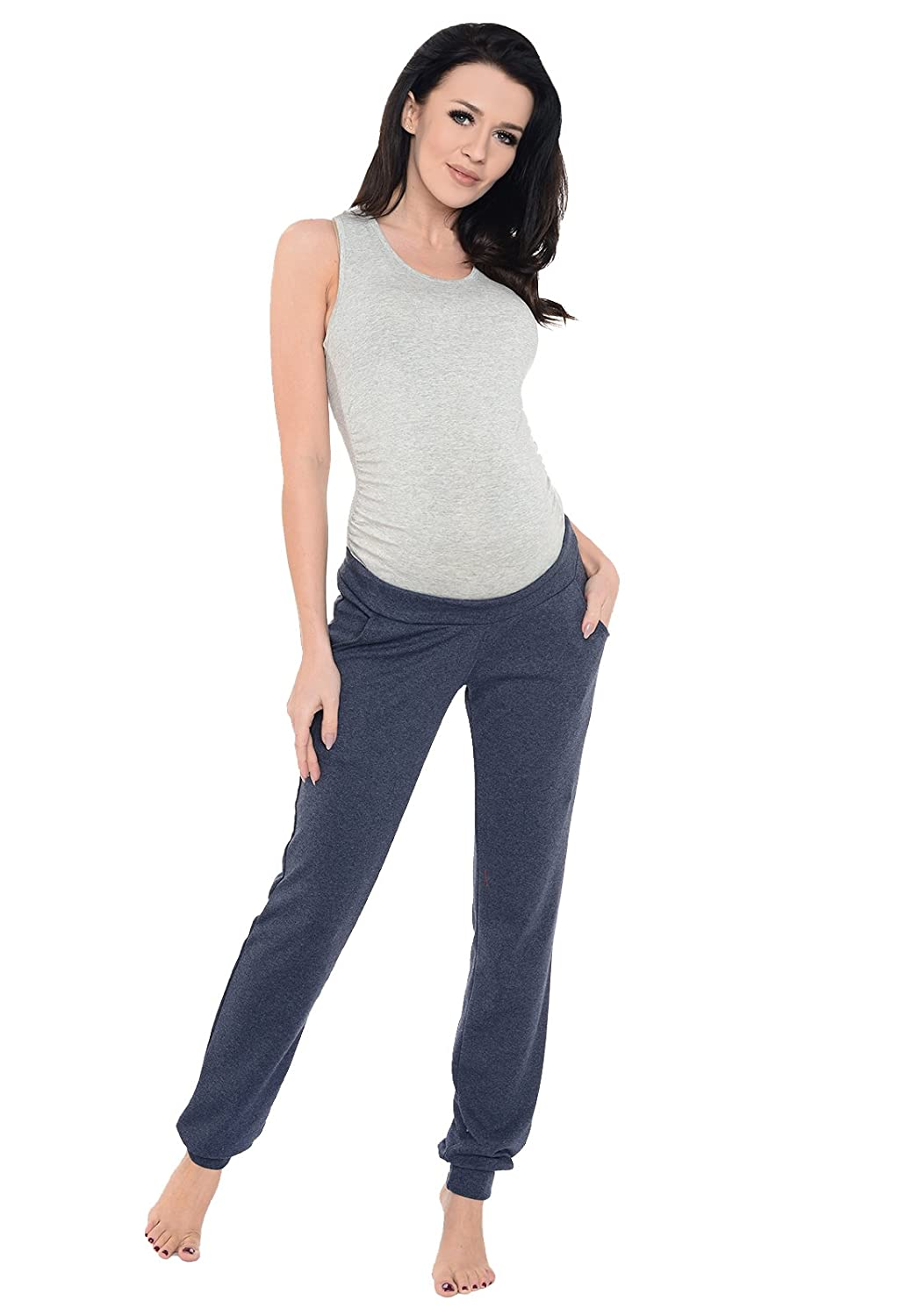 Purpless Maternity Pregnancy Under Bump Joggers Trousers 1314