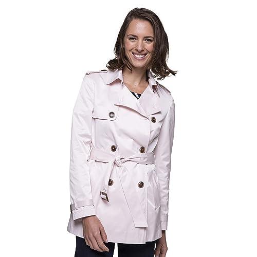 Trench and Coat - Abrigo impermeable - para mujer rosa claro 42