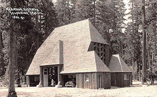 (Redwood Highway Inspection Station Redwood Highway, California postcard)