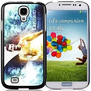 Unique DIY Designed Case For Samsung Galaxy S4 I9500 i337 M919 i545 r970 l720 With Soccer Player Cristiano Ronaldo 15 Cell Phone Case