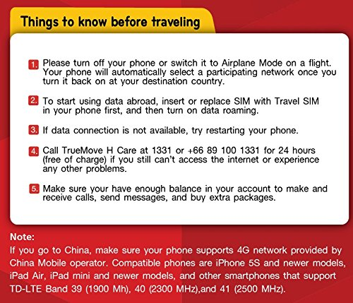 Travel Sim World 4 GB Non-stop internet in China, France, UK, NZ, Vietnam, Russia and other 41 countries by True Decor (Image #1)