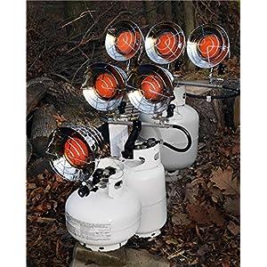 Mr. Heater MH45T Triple Tank Top Heater, 10000 to 45000 BTU/Hr