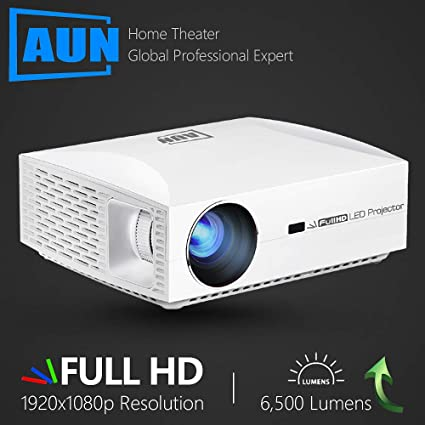 Amazon.com: Full HD Projector F30UP, 1920x1080P. Android 6.0 ...