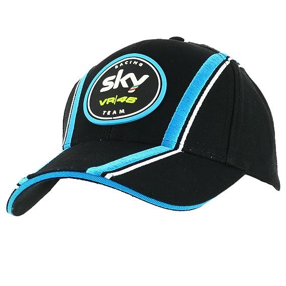 Valentino Rossi VR46 Sky Racing Team Moto3 GP Replica Gorra Oficial 2017: Amazon.es: Deportes y aire libre