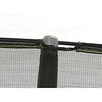 Net for 15ft Trampoline Enclosure using 5 Poles and Sleeves – JumpPod