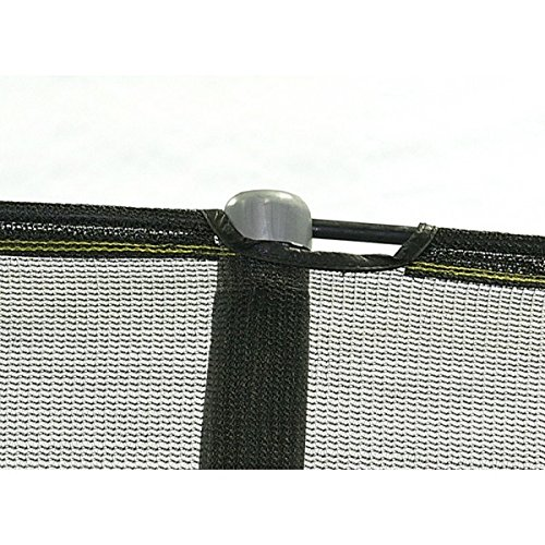 Net for 15ft Trampoline Enclosure using 5 Poles and Sleeves - JumpPod