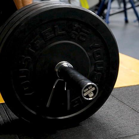 Langhantel-Klemmen f/ür Gewichtheben und Krafttraining 2,5 cm Hantel-Federverschl/üsse Olgaa Federklemmverschl/üsse