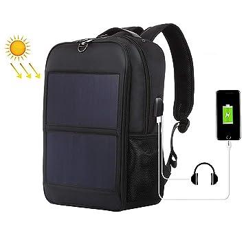 Mochila Grande con Panel Cargador Solar 14W, Bolsas de Negocios ...