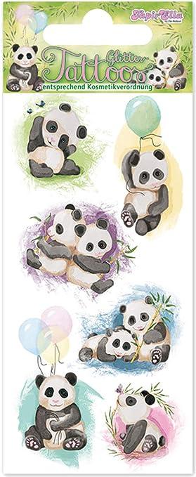 Mauder 49032 - Tatuaje para niños, diseño de Oso Panda: Amazon.es ...