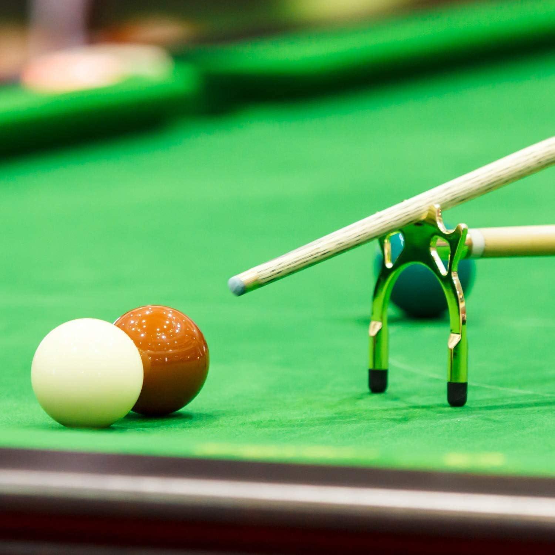 Mesa De Billar - Mesa De Snooker Silencios Araña y Metal Cruz Piscina - Antideslizantes De Las Cue De Jugar Al Billar Juego De Accesorios - para Aficionados y Profesionales: Amazon.es: Hogar