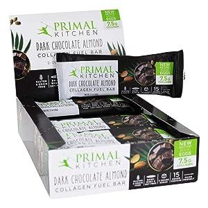 PRIMAL KITCHEN Dark Chocolate Collagen Bar 12 Pack, 1.7 OZ