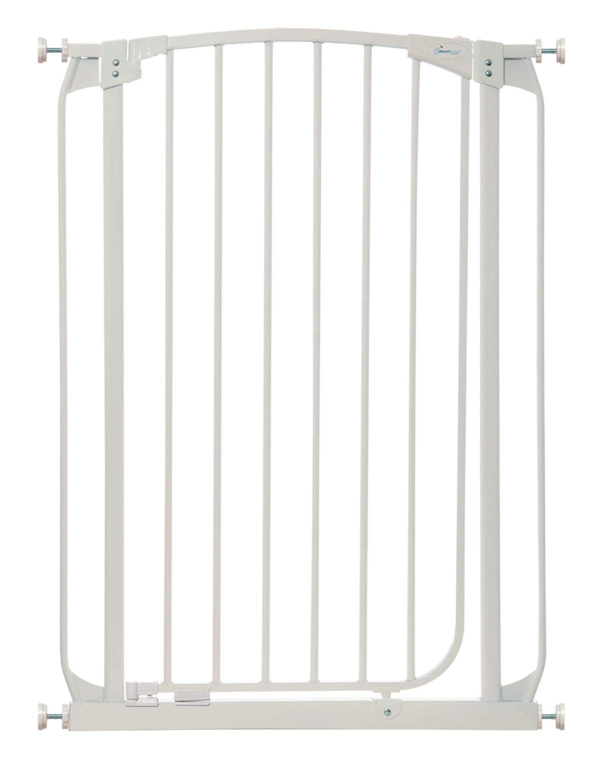 Dreambaby Chelsea Extra Tall Auto Close Security Gate in White by Dreambaby