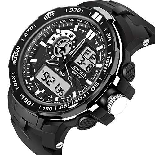 Watches Digital Military Stopwatch Waterproof product image