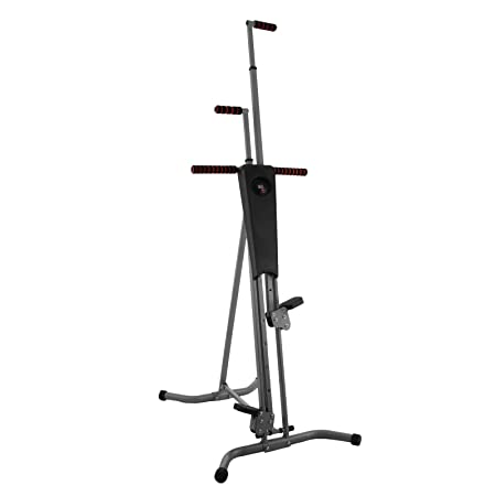 Popsport 440LBS Climber Machine Fitness Stepper Climber Exercise Equipment Vertical Climber for Home Gym Exercise Stepper Cardio Climbing System