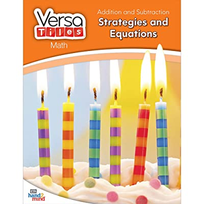 hand2mind VersaTiles Math Books Grade 1 (Addition and Subtraction: Strategies and Equations): Industrial & Scientific