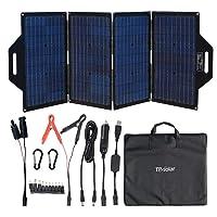 TP-solar 120 Watt Foldable Solar Panel Battery Charger Kit for Portable Generator...