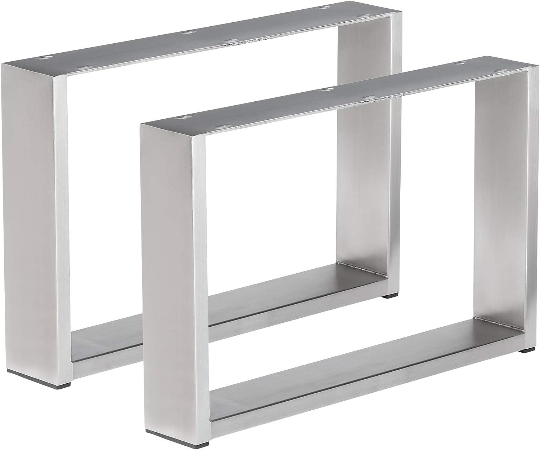 1 Pair Table Base Coffee Table Stainless Steel Frame Coffee Table Frame Cug 403 Amazon De Baumarkt