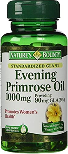 Nature s Bounty Evening Primrose Oil 60 softgels Pack of 3