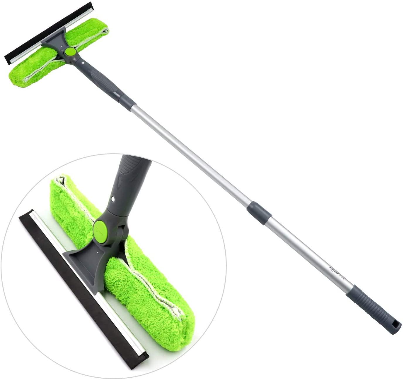AmazonBasics Extendable Window Squeegee with Rotating Head
