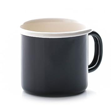 Dexam Émail En Vintage Tasse Noir lcJ1FK3T