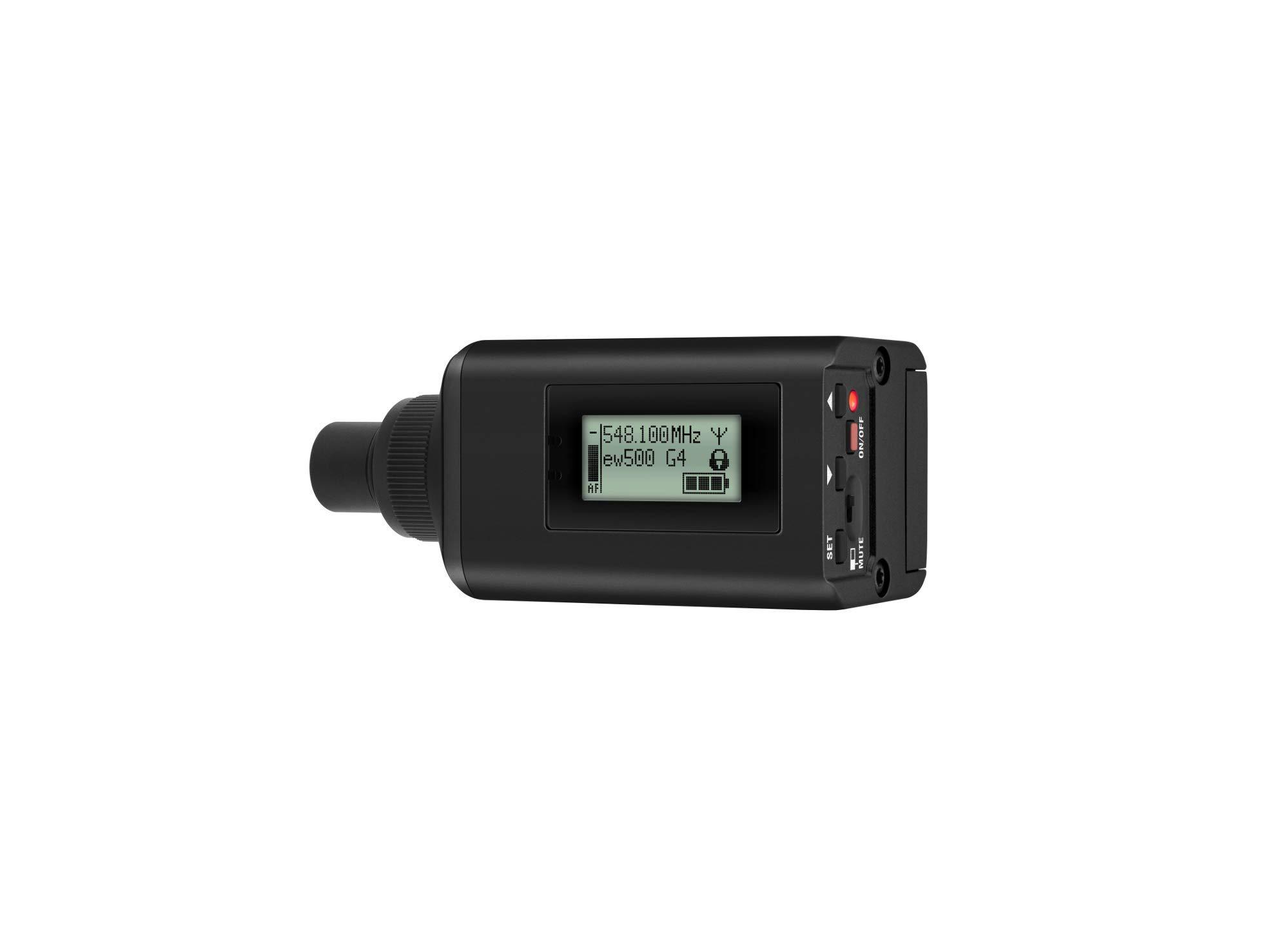 SKP 500 G4 Pro Wireless Plug-On Transmitter AW+: (470 to 558 MHz) by Sennheiser