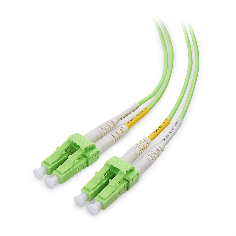 Cable Fibra Optica OM5 1mt LC a LC DUPLEX 50/125 C Matters
