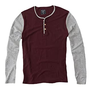 Abercrombie & Fitch - Camiseta de manga larga - Básico - Manga Larga - para hombre