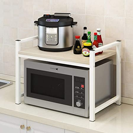 Estante de microondas 2-Tier Cocina Microondas Horno de ...