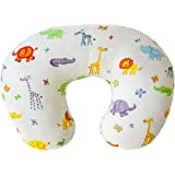 Nursing Pillow - Breastfeeding Pillow with 100% Organic Cotton Cover - Comfortable Baby Feeding Pillow - Tummy Time…