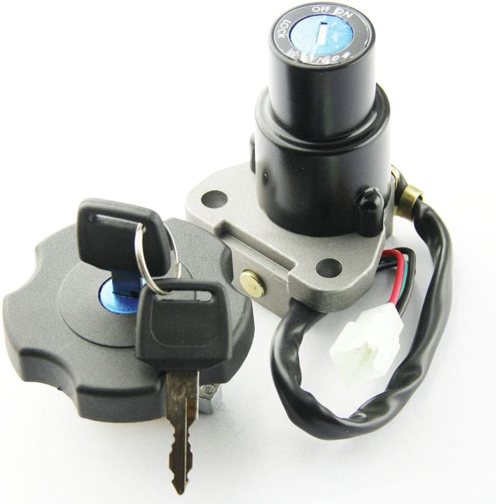 Motorcycle Ignition Switch Lock Key Fuel Gas Cap Key Set for Yamaha XT600 TW200 DT200R XT225 Serow 225