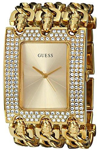 GUESS U0085L1 Multi Chain Gold Tone Bracelet