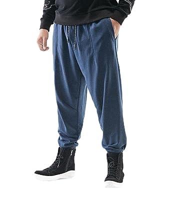 GHGJU Pantalones De Los Hombres Pantalones De Chándal De Estilo ...