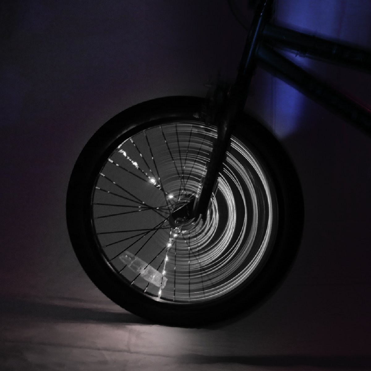 Brightz, Ltd. Spoke Brightz LED Bicycle Spoke Accessory Light (for 1 Wheel), White