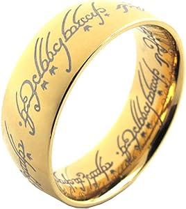The One Ring (高品質ステンレス 金色)