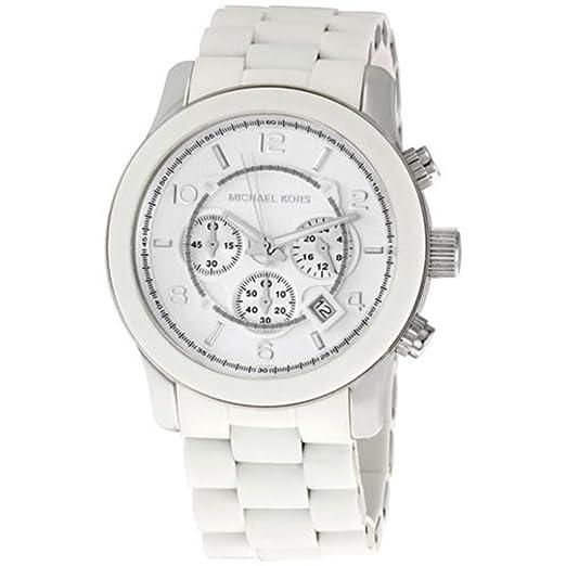 Michael Kors Runway Reloj de pulsera para hombre con cronómetro, color blanco, MK8108 tiene uno para vender uno mismo Casio AMW320R-1EV Marine Ana-Digi Dive ...