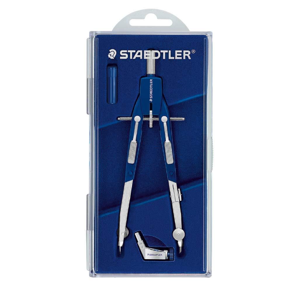 "Staedtler Comfort 2 Pc Metal Quick Setting 6"" Compass Set, 552 01 61mlR94fTGL"