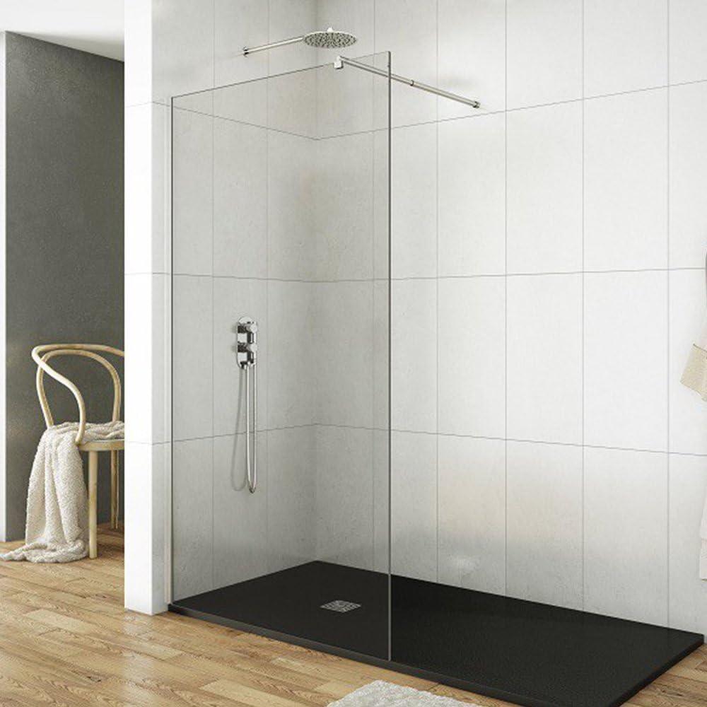 Pantalla de Ducha Screen Par degeo | mampara de cristal templado 8 mm – paredes Mobile 40 cm disponible | Design épuré: Amazon.es: Bricolaje y herramientas