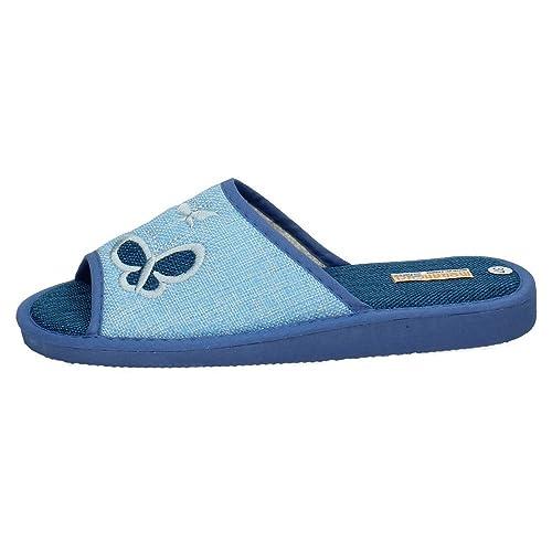 MORANCHEL 1852 CHOLAS DE Lona Mujer Zapatillas CASA: Amazon.es: Zapatos y complementos
