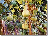 John Sargent Garden Custom Tile Mural 18. 36x48 Inches Using (12) 12x12 ceramic tiles.