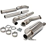 For VW Golf Catback Exhaust System 3
