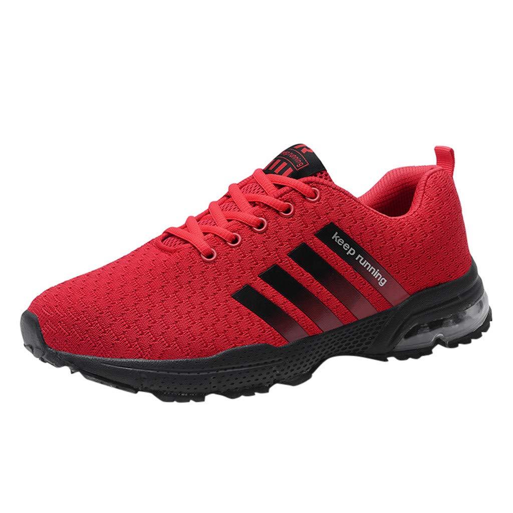 Women's Keep Running Sneakers, NDGDA Mens Womens Mesh Beathing Basketball Sport Athletic Shoes