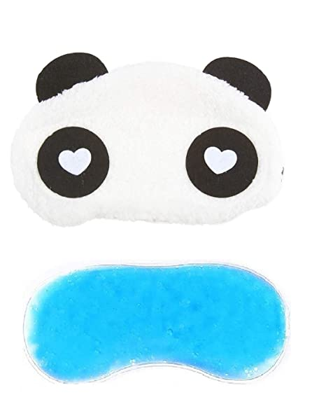 f6409fe48c2 Jenna Fur Panda Ice Gel Sleeping Eye Mask for Insomnia