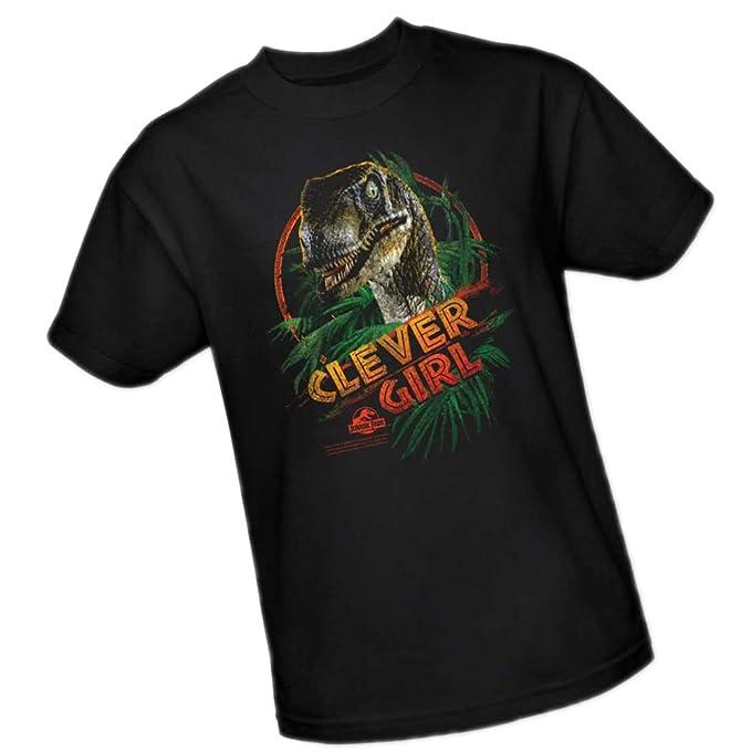 Clever Girl -- Jurassic Park Adulto Camiseta, S