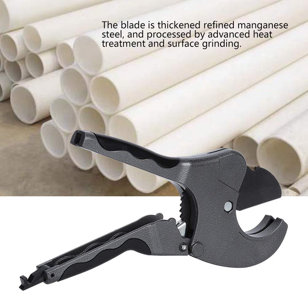 Rohrschneider 20-63 mm Schnittdicke tragbares manuelles Rohrscherenwerkzeug aus Manganstahl Aluminium-Kunststoff-Rohren zum Schneiden von PPR-Rohren PE-Rohren