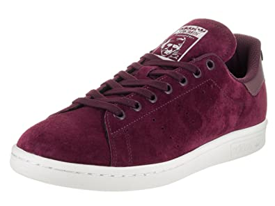 d21c2bdbfeae adidas Men s Stan Smith Originals Maroon Maroon Ftwwht Casual Shoe 7.5 Men  US